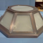 C003-16 Ceiling Light  (Shown in Frosted Glass)