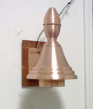 Turtle Light 1 with Bell Top $ call for price