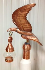 Eagle Weathervane with 0000  Onion Light  (Call for Price)